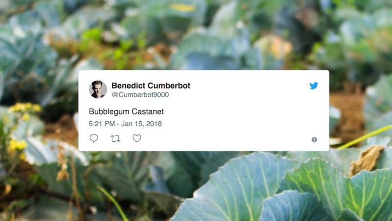 Benedict Cumberbot example image
